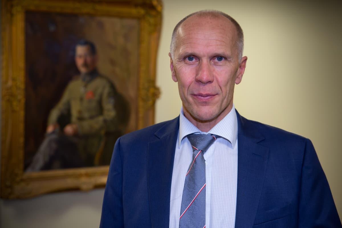 Lauri Puranen Strategisten hankkeiden ohjelmajohtaja, puolustusministeriö