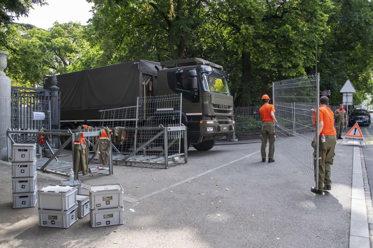 Järjestelyjä tehdään Genevassa.