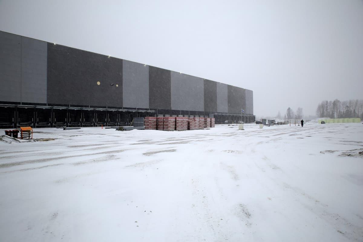 Lidlin jakelukeskus valmistuu syksyllä Järvenpään yritysalue Boogien keskelle Nelostien tuntumaan.