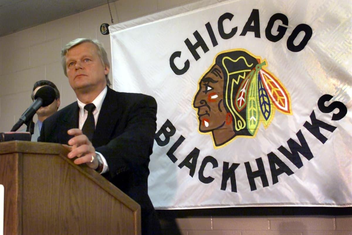 Alpo Suhonen Chicago Blackhawks 2000