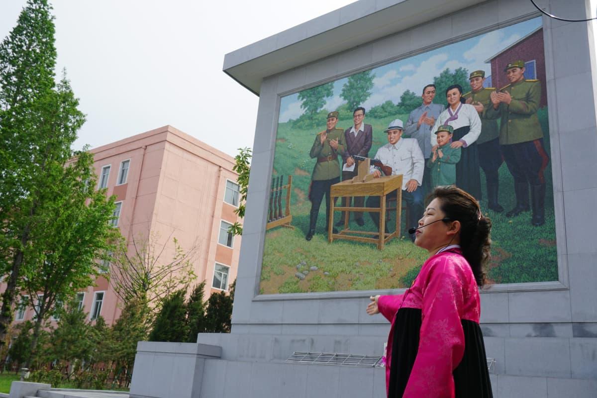 Pjongjan Pohjois-Korea 5. toukokuuta 2016.