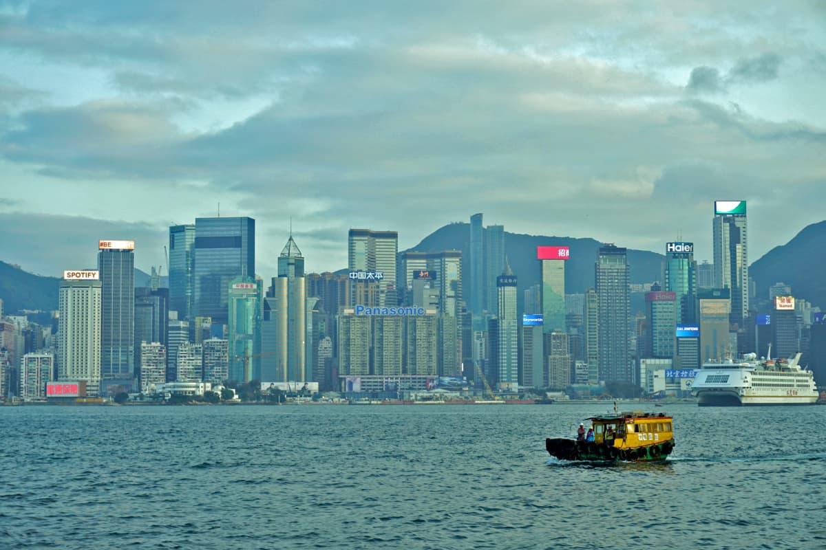Hongkongin lähiöt ovat täynnä noin 40-kerroksisia asuintaloja