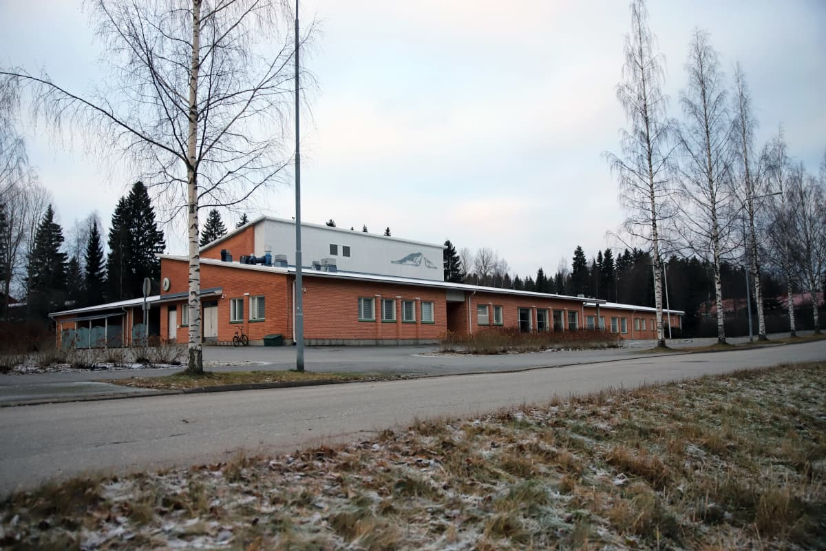 Launialan koulu Mikkelissä.
