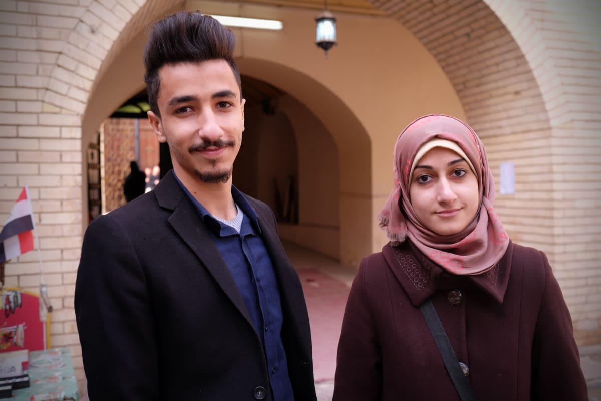 Zain al-Abideen ja Zina Ali