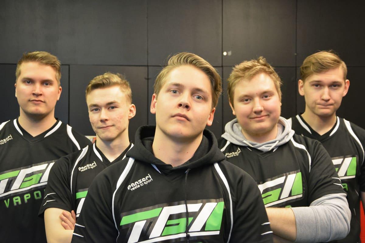 Turku Game Academyn TGA Vapor -joukkue