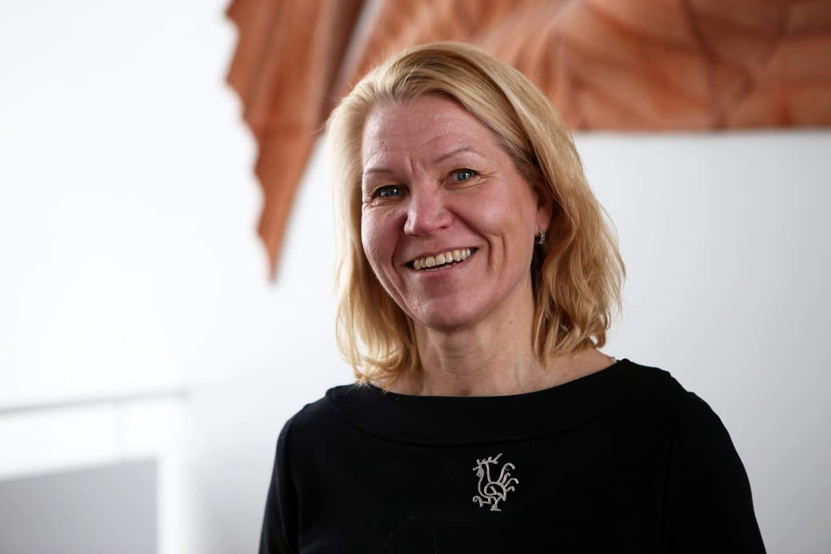Laitilan kaupunginjohtaja Johanna Luukkonen.