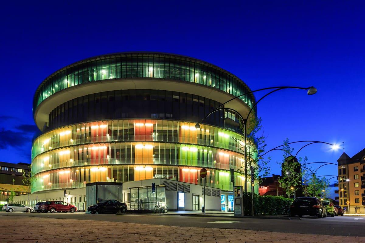 Malmön sairaala, akuutti- ja infektioklinikka.