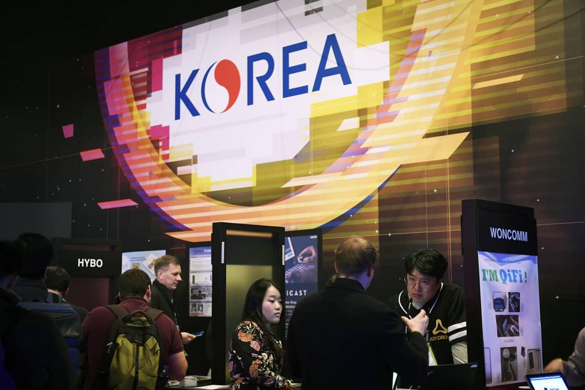 Korean osasto.