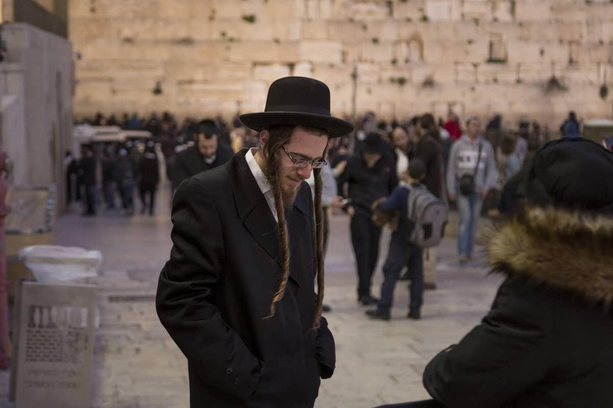 Ortodoksijuutalainen Israelissa.