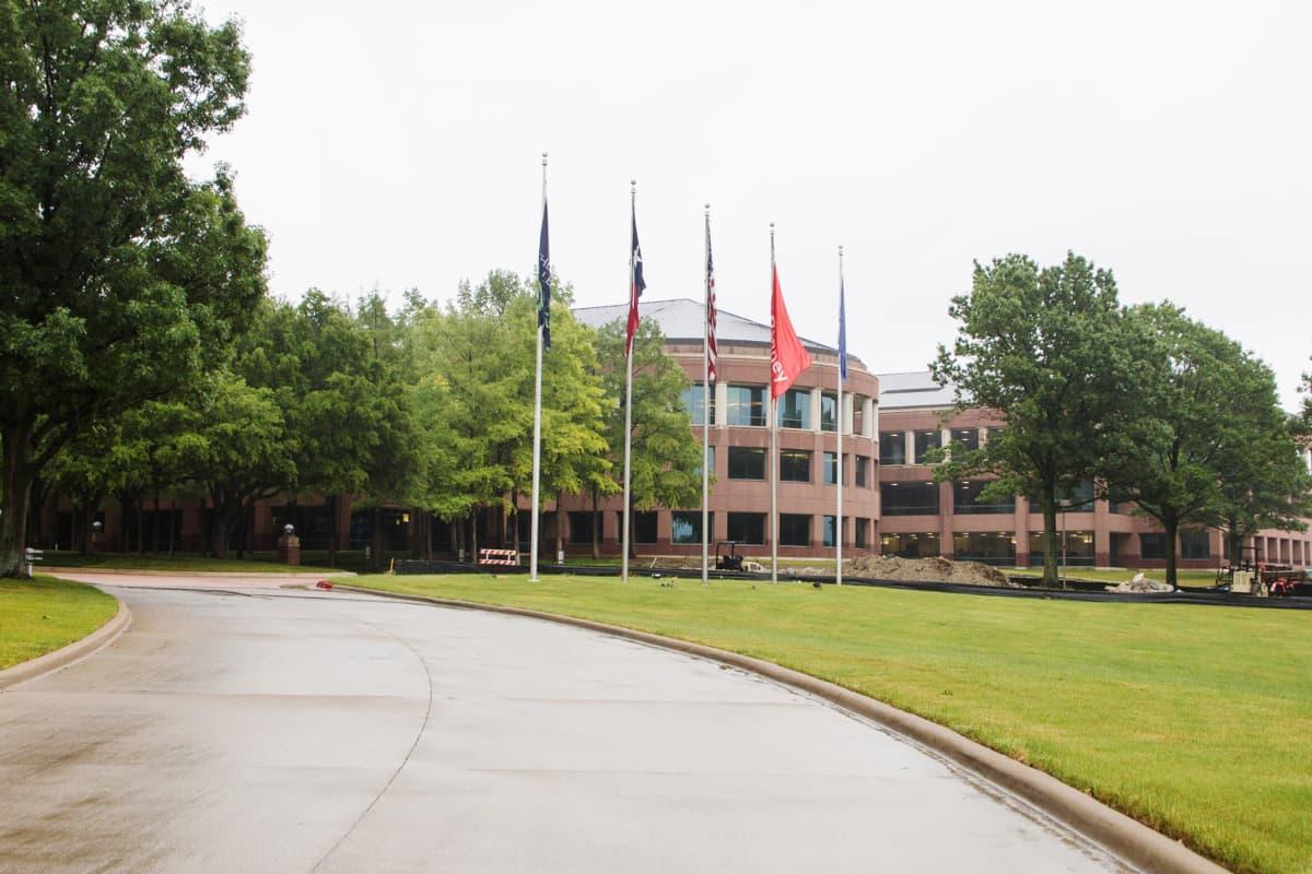 Kuvassa on J. C. Penneyn pääkonttori Teksasissa.