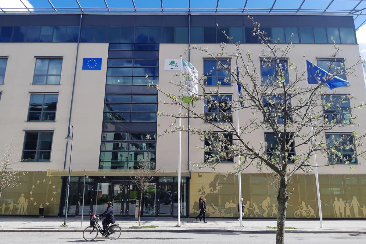 Kuvassa on ECDC:n toimisto Tukholmassa.