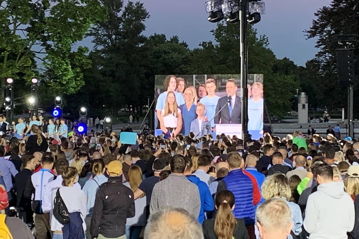 Puolassa käytiin heinäkuun puolivälissä presidentinvaalit.