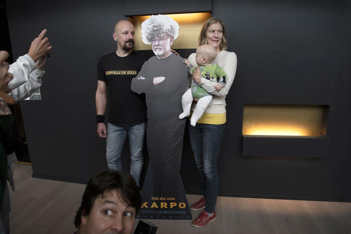 Sampo, Liisa ja Astra Karpo