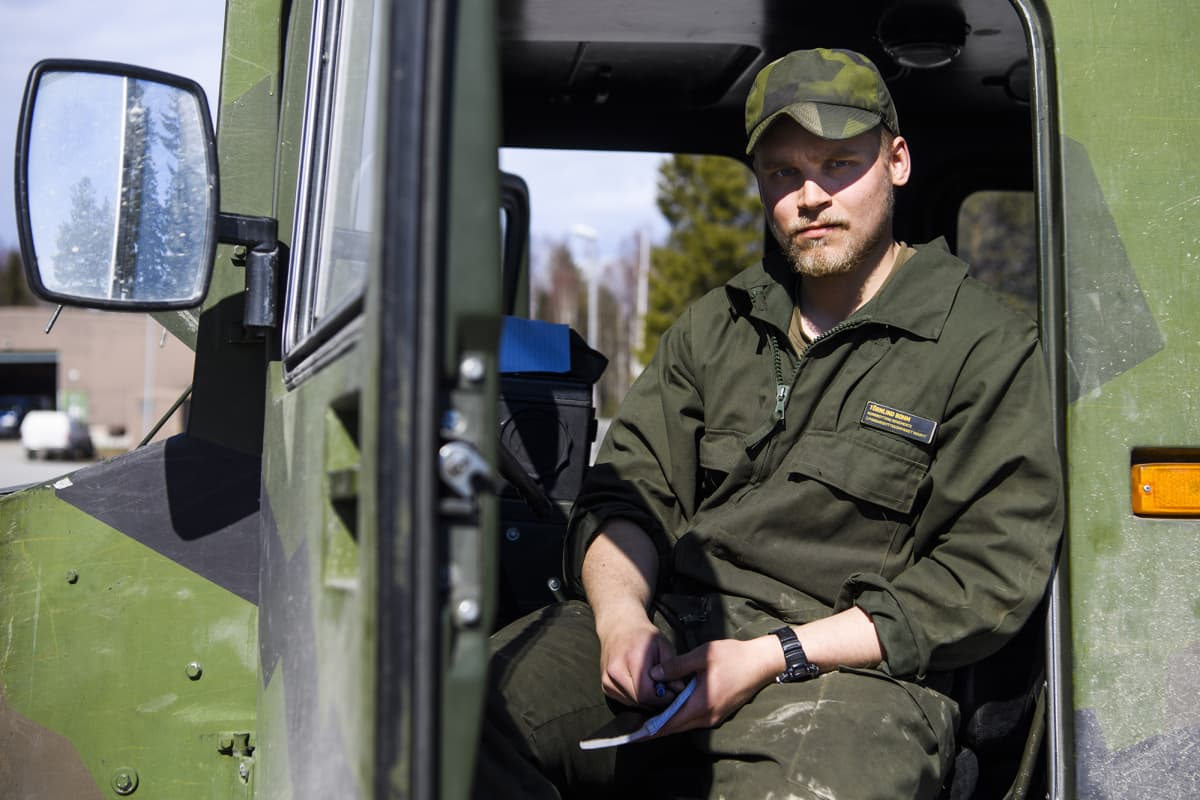 armeija, varusmies Törnlind Bohm