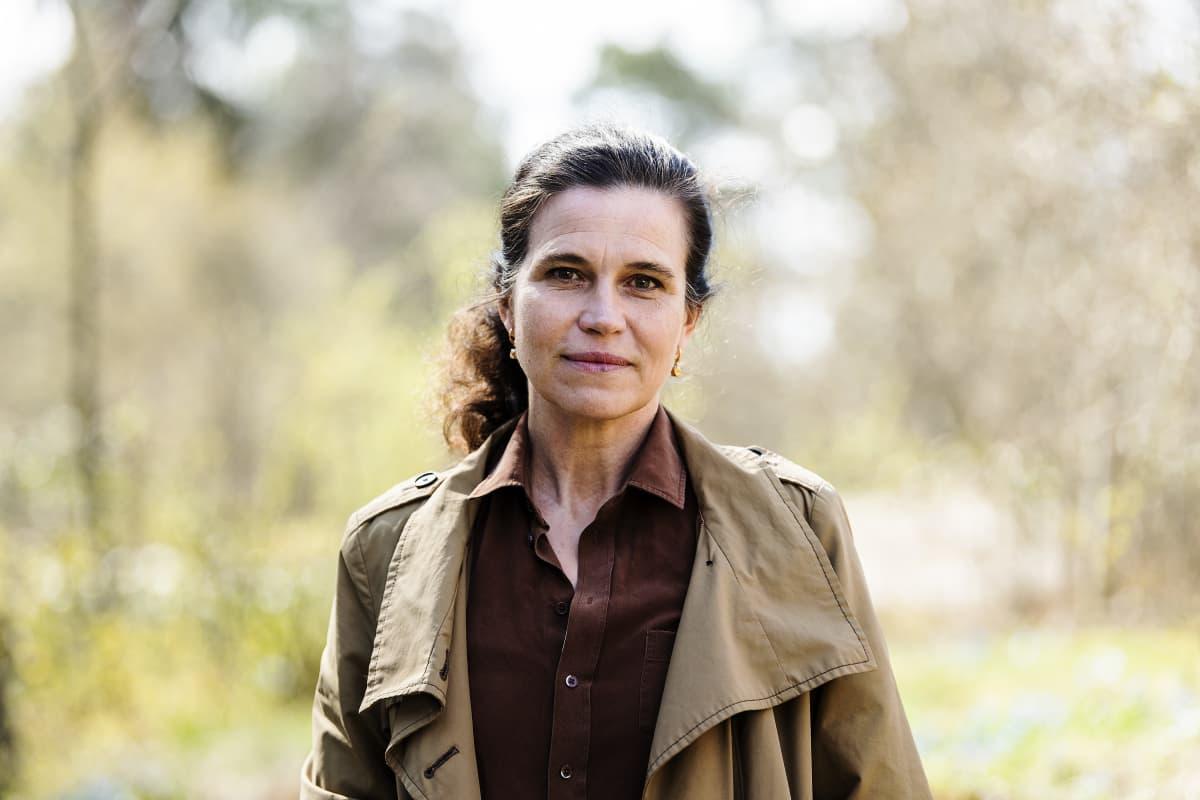 Kuvassa on Väestöliiton Anna Rotkirch.