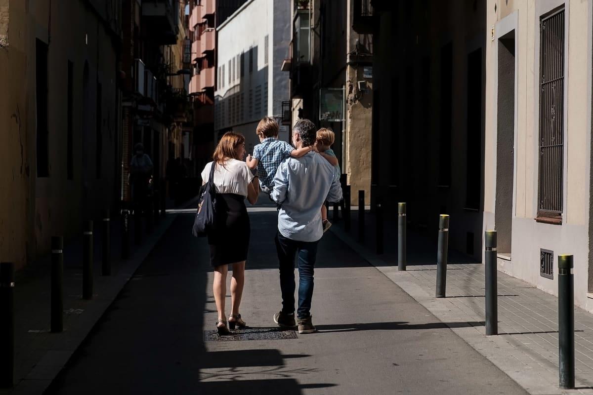 Kuvaa Barcelonan kaduilta.