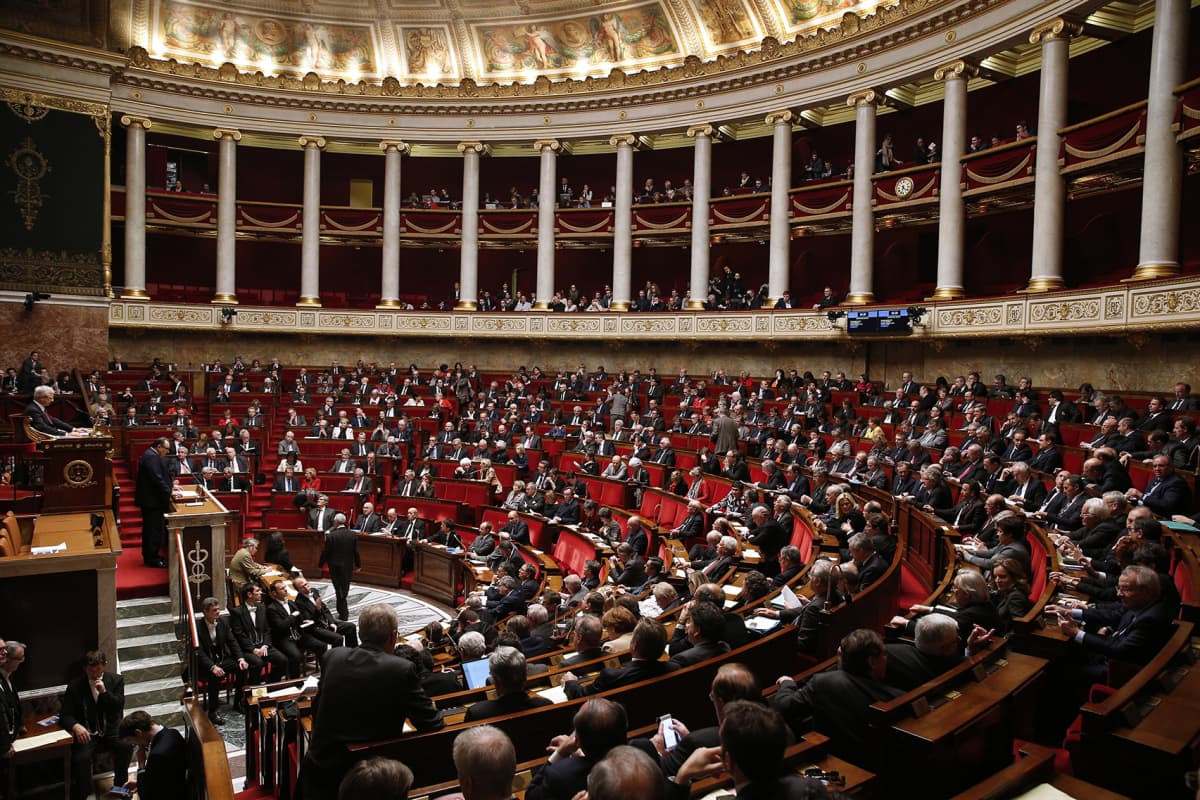 Ranskan parlamentti.