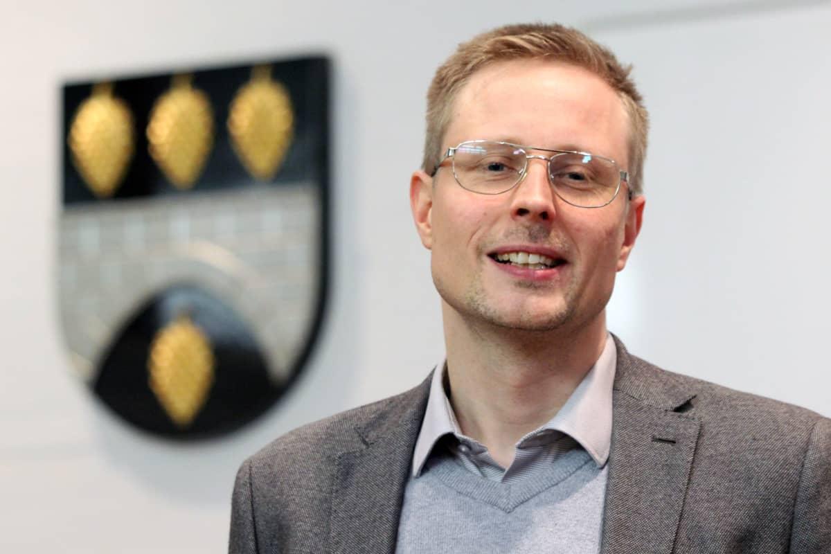 Sulkavan kunnanjohtaja Juho Järvenpää.