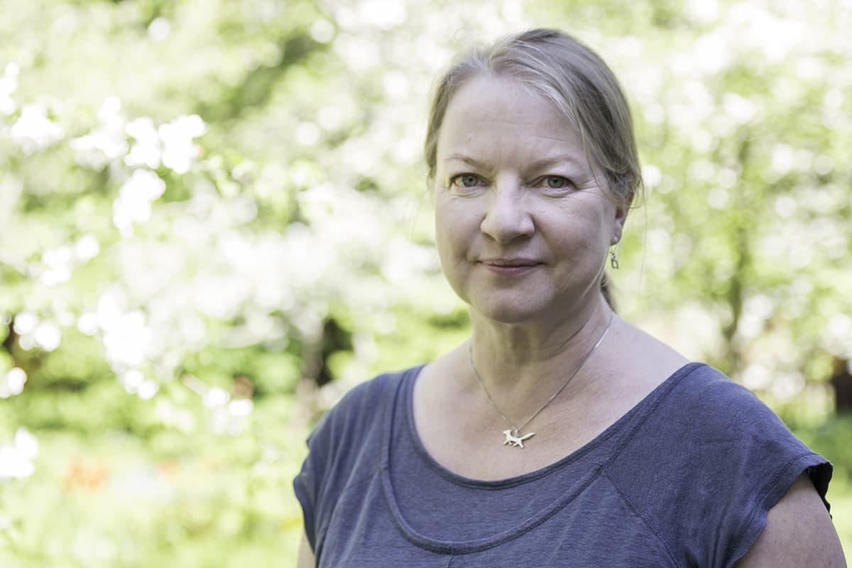 Suomen ympäristkökeskuksen vanhempi tutkija Terhi Ryttäri.