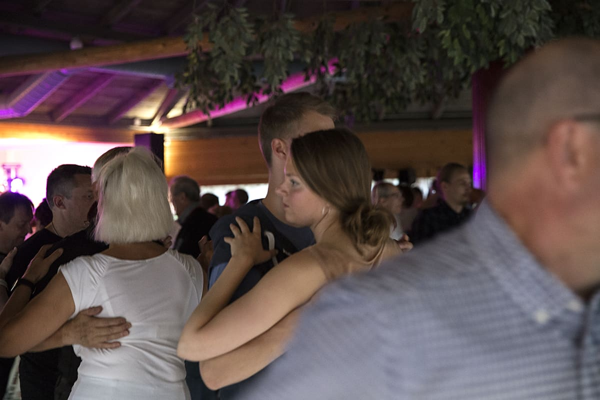 Tanssijoita Kuikan tanssilavalla.