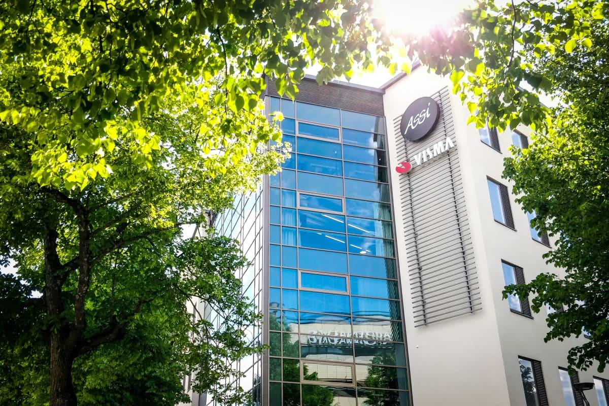 Visma Solutionsin toimisto sijaitsee Lappeenrannan Vapaudenaukiolla.