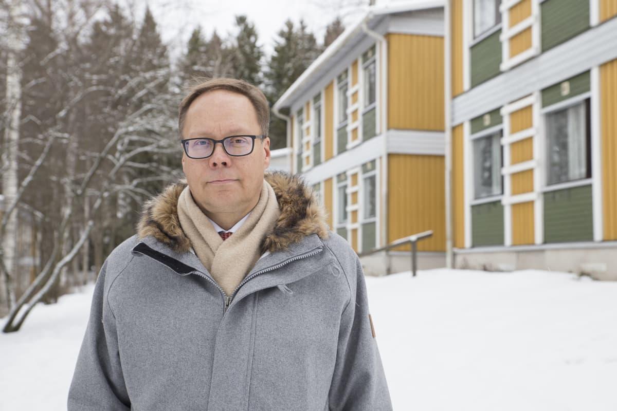 Hoasin toimitusjohtaja Matti Tarhio.
