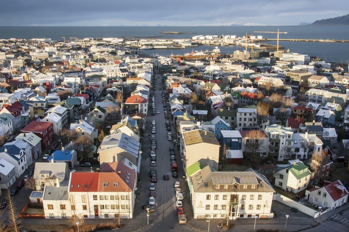 Reykjavíkin kaupunkikuvaa
