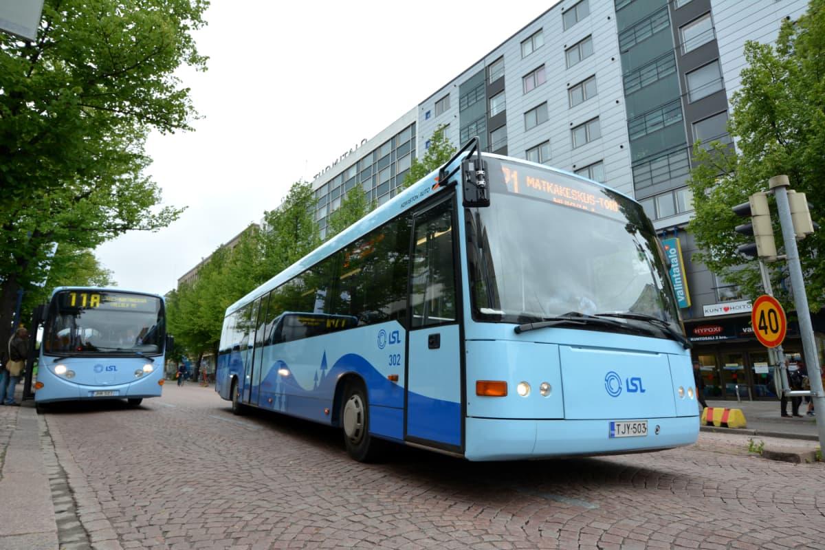 Bussi Lahti Lentoasema
