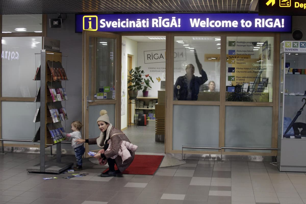 Airbaltic Lennot Tampereelta