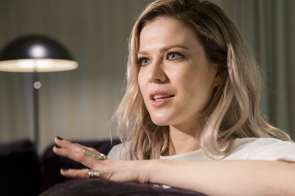 Jenni Vartiainen edusti taas saman suomalaismerkin