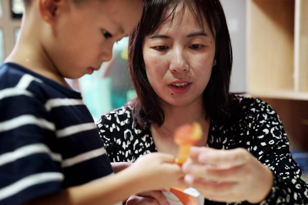 Xia Hui ei ollut miehensä kanssa suunnitellut kahta lasta. Xiangxiang syntyi juuri ennen kuin laki salli perheelle toisen lapsen.