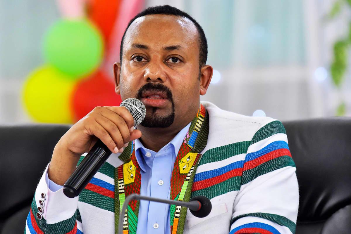 Etiopian pääministeri Abiy Ahmed.