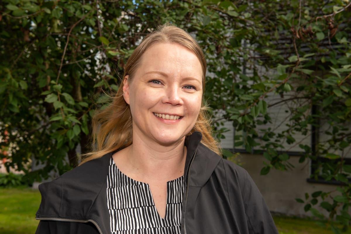 Jyväskylän yliopisto väitöskirjatutkija Hanna Reinikainen.