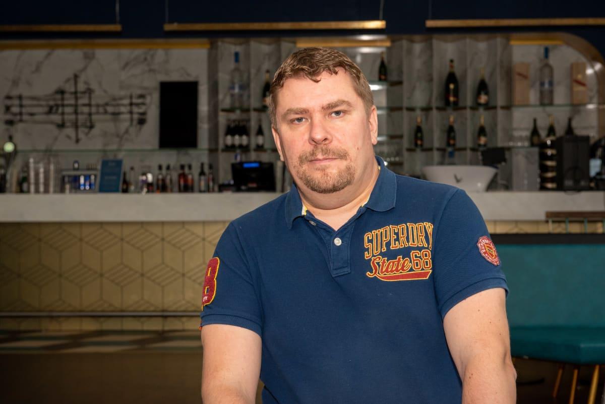 Antti Raunio, toimitusjohtaja, yökerhoketju Night People Group.
