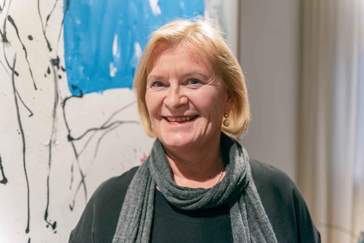 Teknologiateollisuus ry hallinnon puheenjohtaja Marjo Miettinen.
