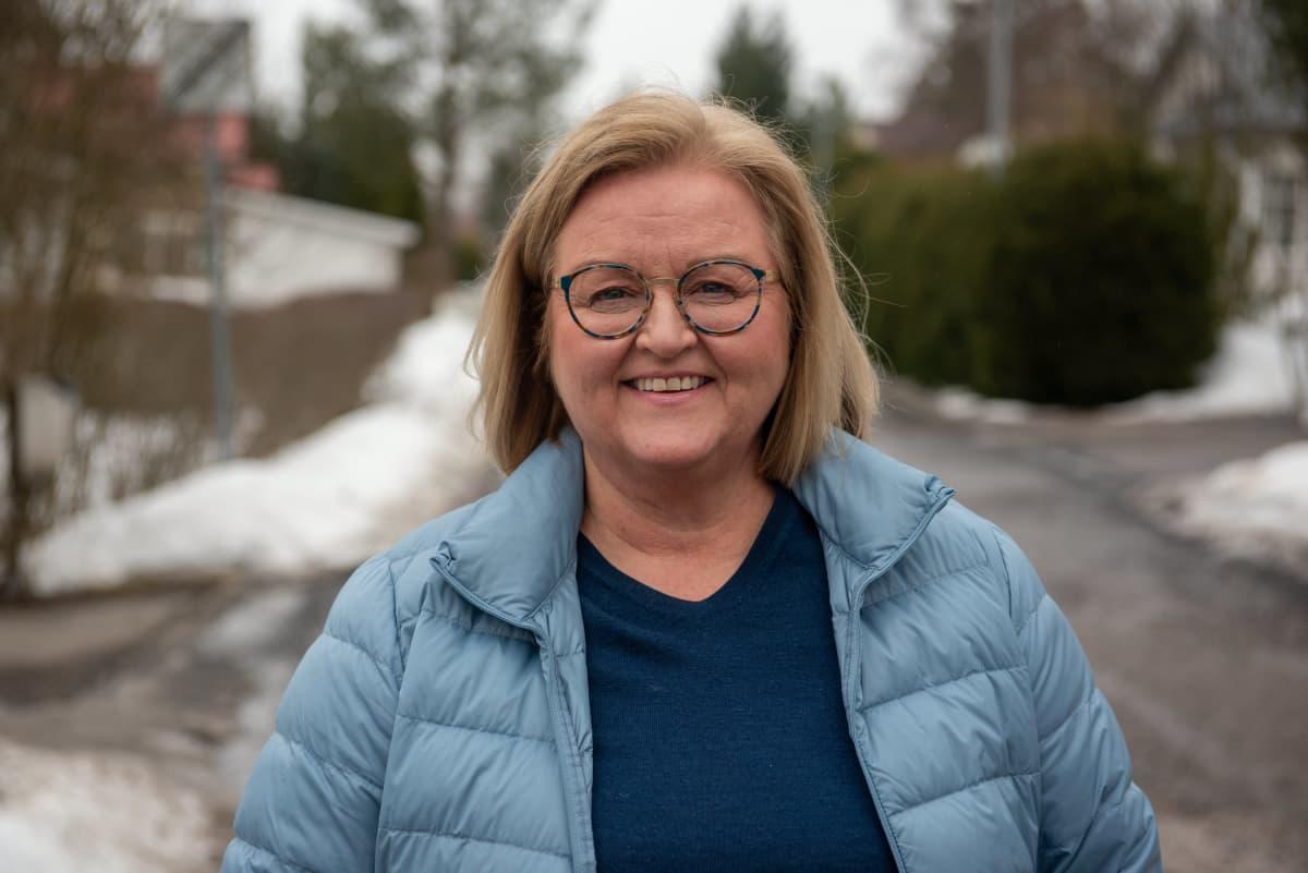 Etu ry:n toimitusjohtaja Ulla Pöllänen. 24.3.2021.