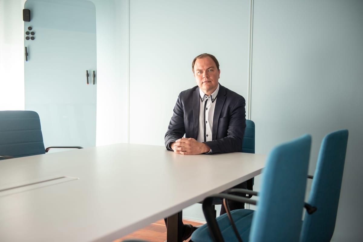 Talous ja sote osaamisryhmän johtaja kuntakonsulttiyhtiö FCG:stä Sami Miettinen.
