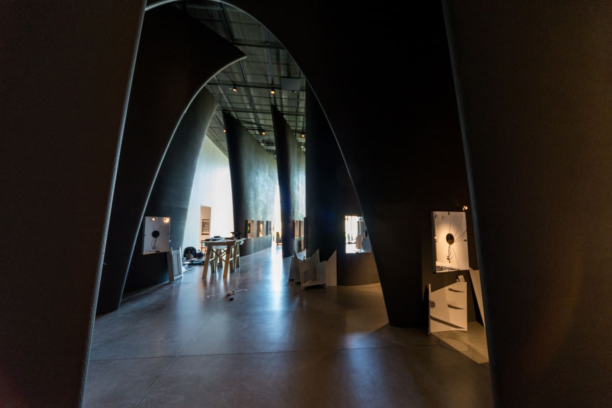 Näihin tiloihin tulee näyttely Viron neuvostoajasta.
