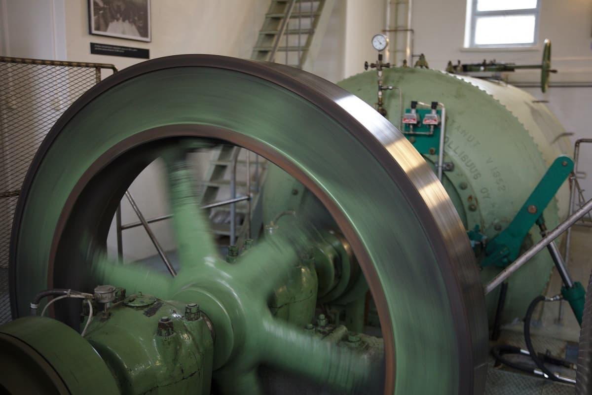 Kirakkakönkään voimalan turbiinit ovat lähes 70 vuotta vanhat.