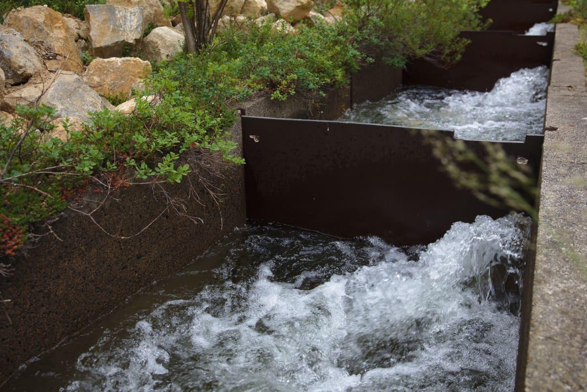 Kirakkakönkään vesivoimalaan tehtiin kalaportaat 1990-luvun alussa. Ne eivät ole palauttaneet vaelluskalaa Kirakkajoen vesistöön.