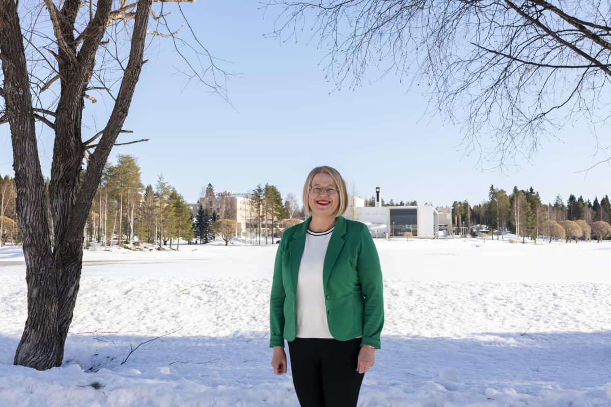 Kainuun liiton aluekehitysasiantuntija Minna Komulainen
