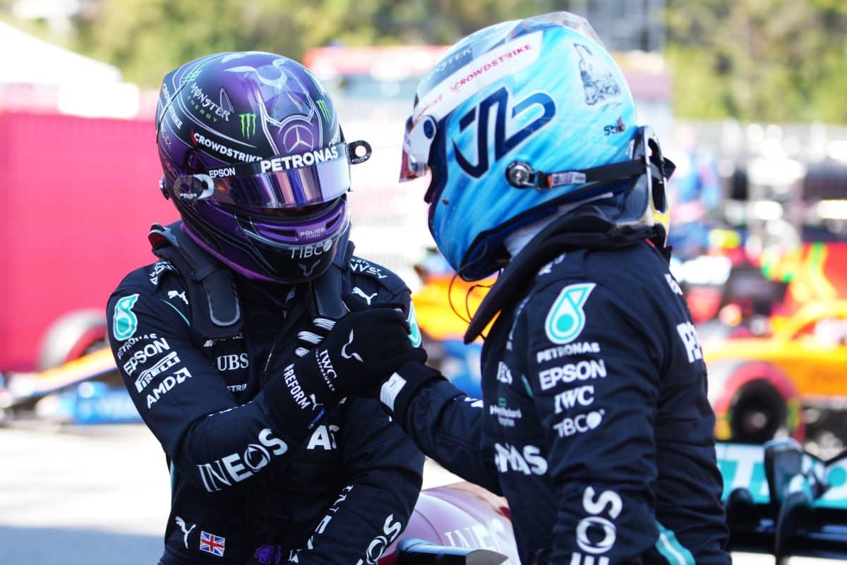 Lewis Hamilton ja Valtteri Bottas