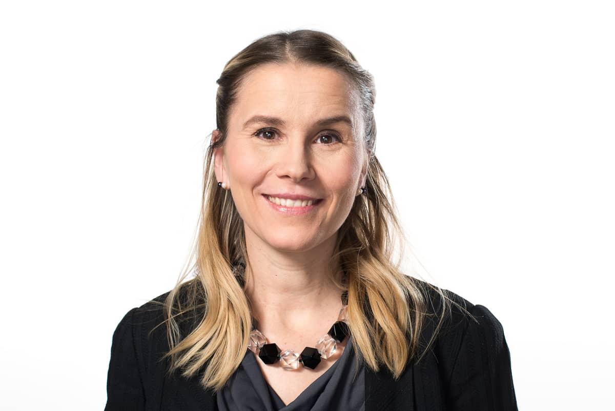 Toimittaja Paula Vilén.