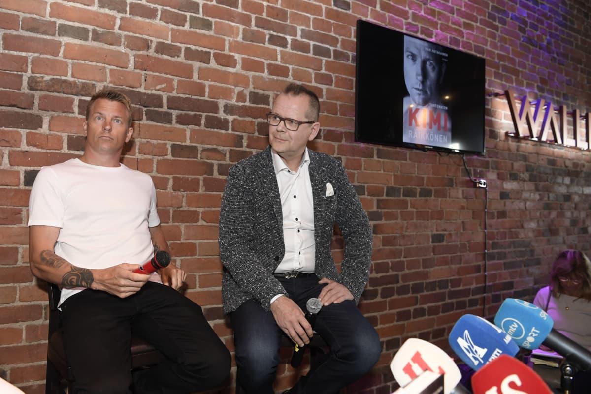 Kimi Räikkönen ja Kari Hotakainen