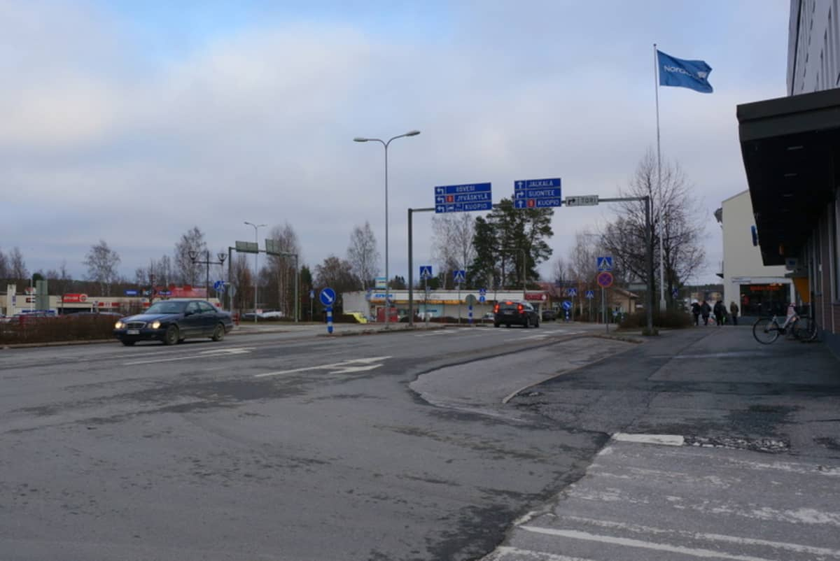 Suonenjoen keskusta.