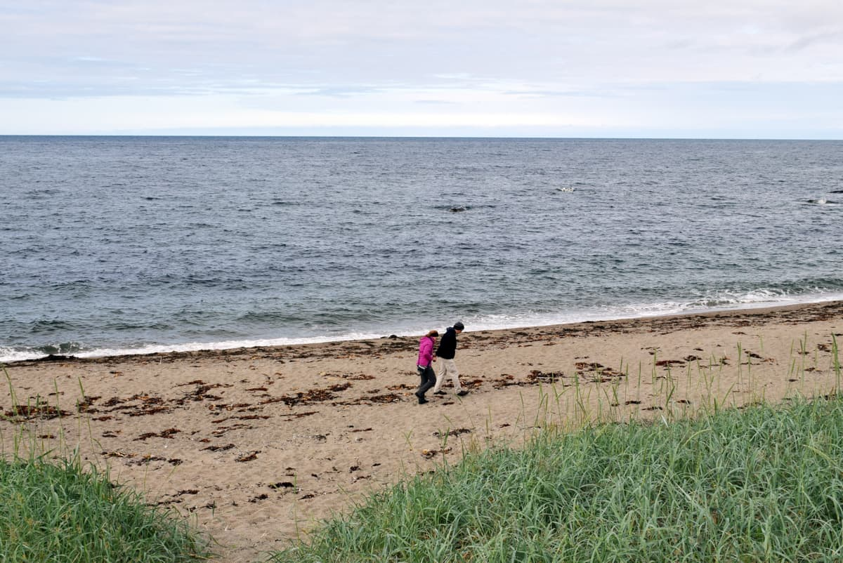 Grense Jakobselv Barentsinmeren rannalla Norjan itäisessä kärjessä.