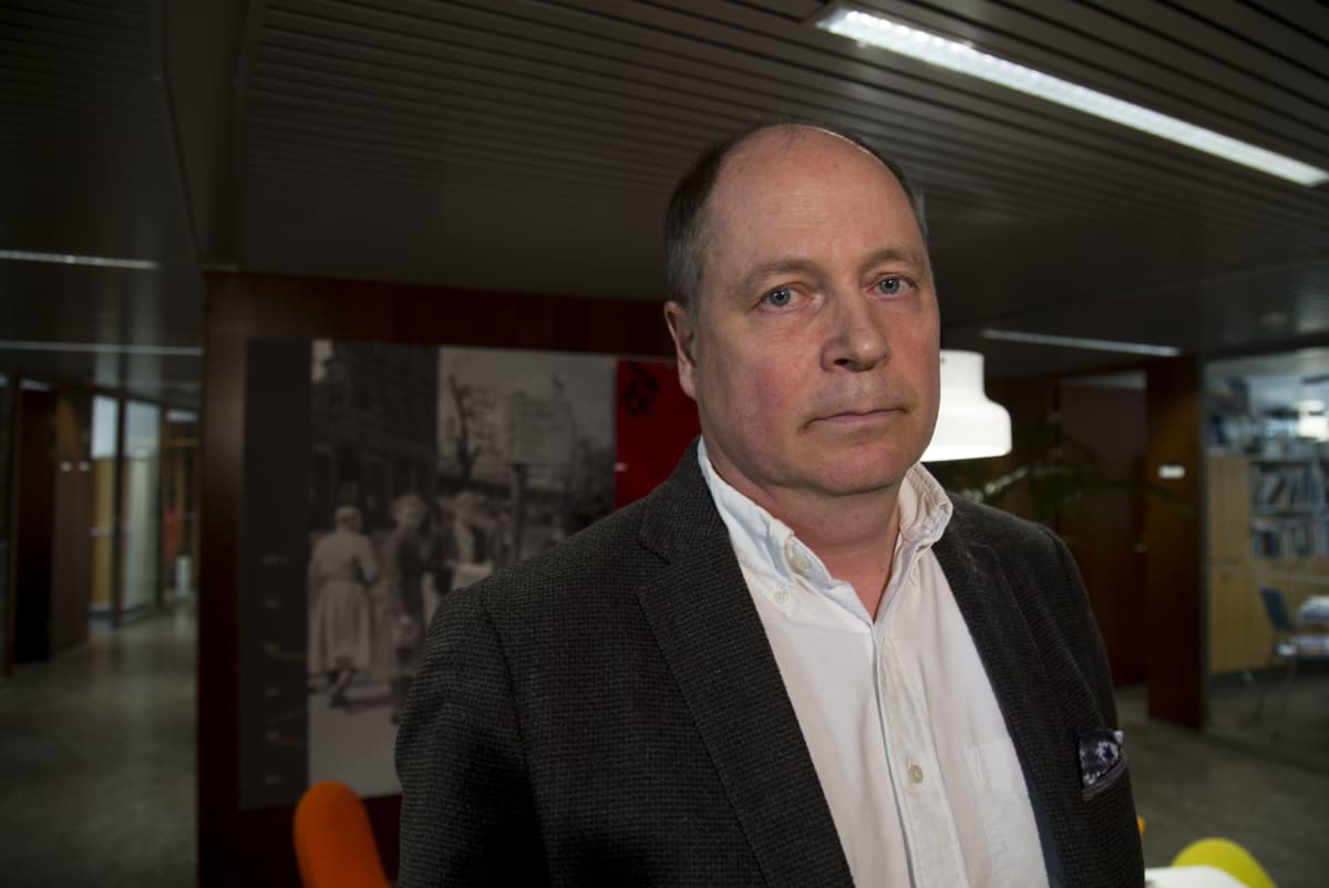 Pasi Saukkonen on Helsingin kaupungin erikoistutkija.