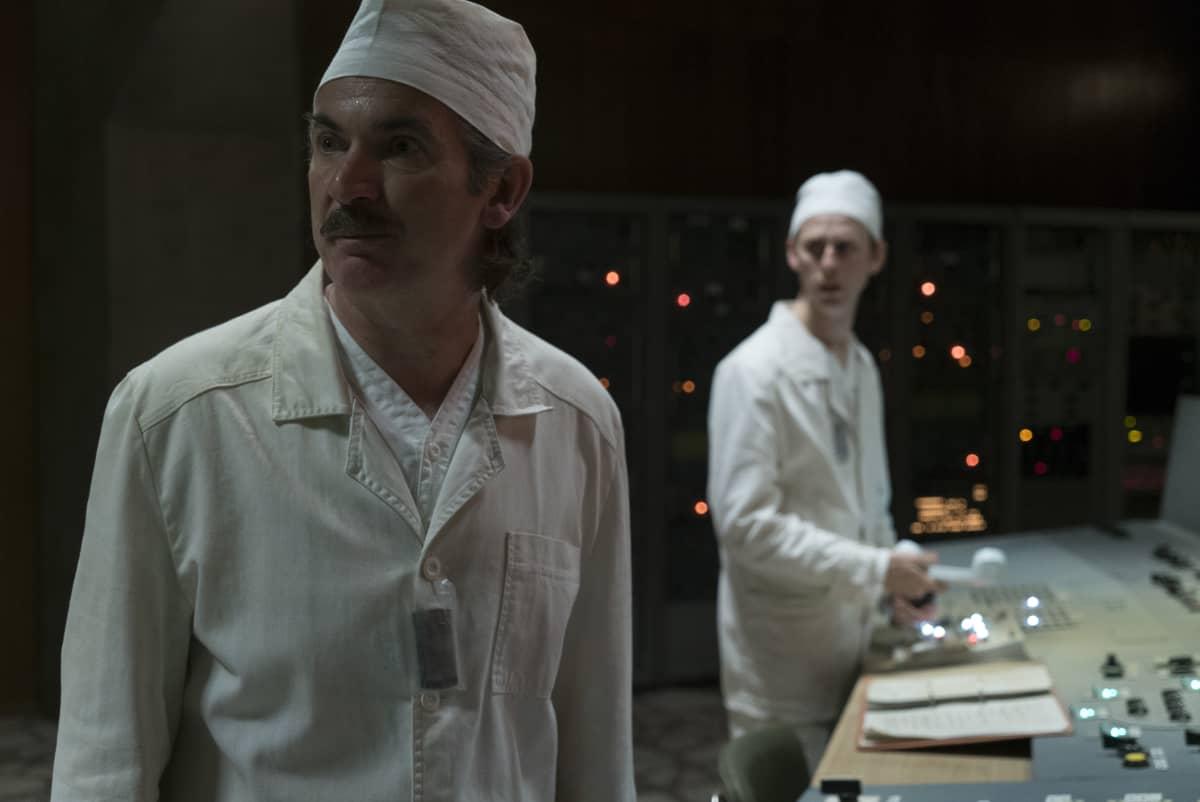 Scen ur TV-serien Chernobyl (HBO).