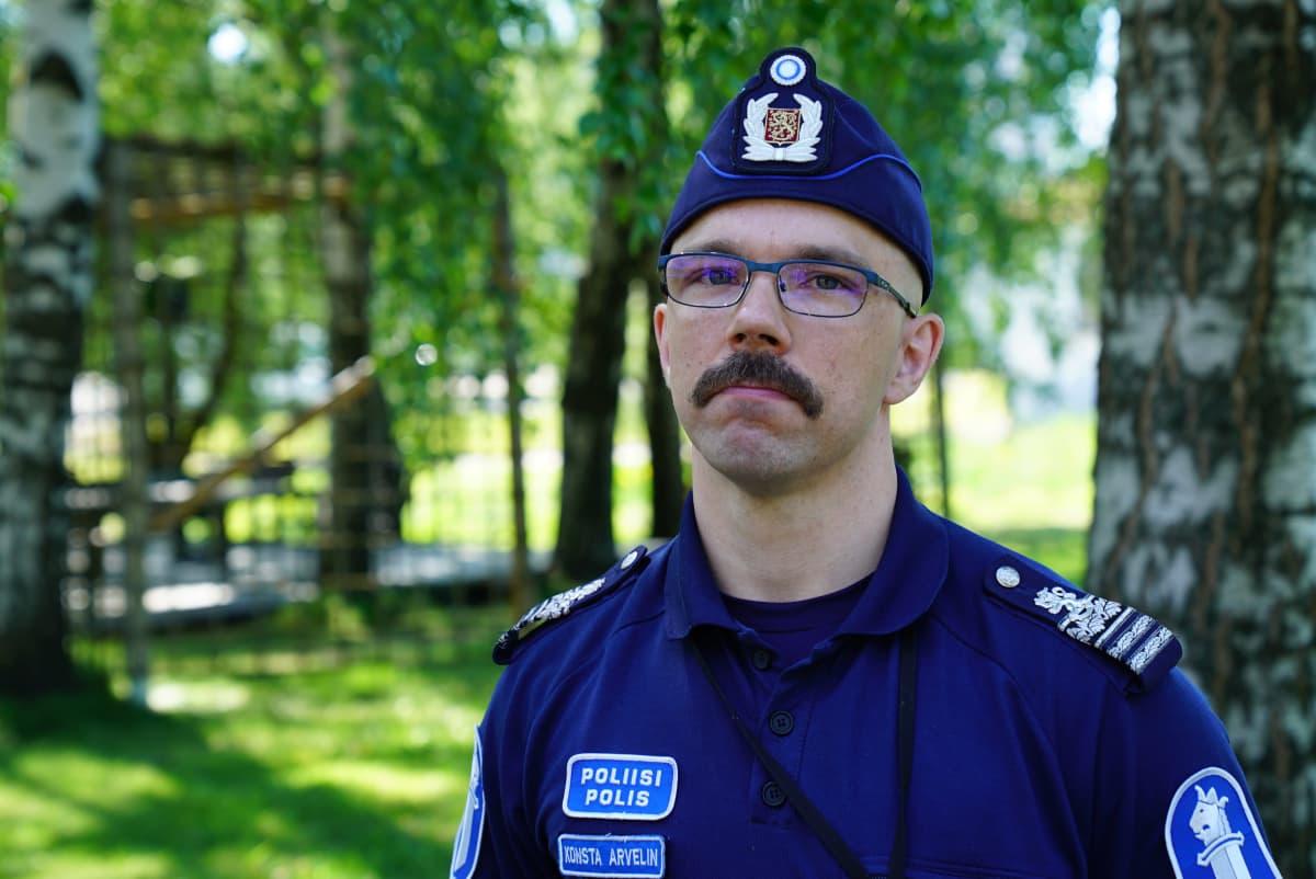 Konsta Arvelin poliisitarkastaja