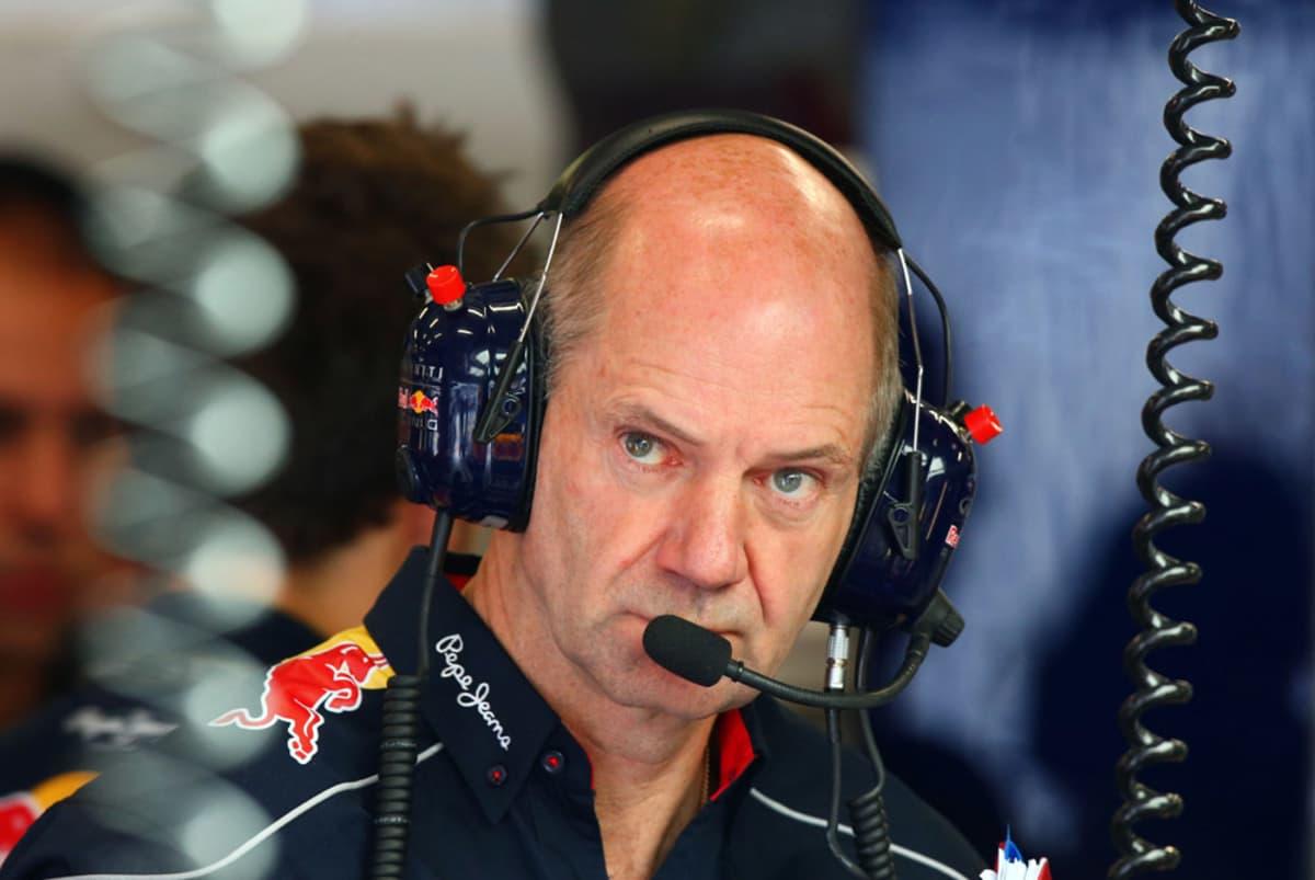 Red Bullin tekninen johtaja Adrian Newey